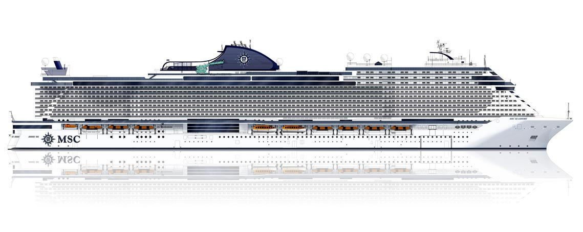 MSC Seashore: open sales